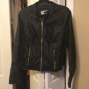 Nice Marc New York leather jacket
